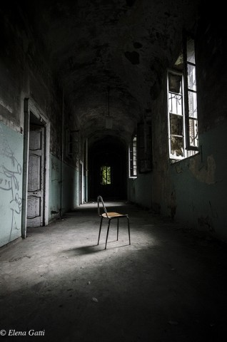 Ex Manicomio Mombello - photo by Elena Gatti shared on flickr.com
