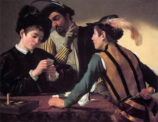 """""""I Bari"""" di Michelangelo Merisi da Caravaggio"""